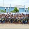 Pedro Avelino, RN – Centenas de crianças de escolas públicas do município de Pedro Avelino, RN, foram presenteadas com kits de materiais pedagógicos da campanha Criança Nota 10!, da LBV.