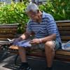 O senhor Germano Brito recebeu o panfleto e ressaltou que acompanha os artigos do escritor Paiva Netto.