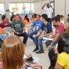 Recife, PE — O ministro-pregador da Religião do Terceiro Milênio Emerson Damásio conduziu a oficina das