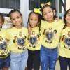 Salvador, BA — As crianças registraram com alegria a participação no 17º Fórum Internacional dos Soldadinhos de Deus, da LBV.