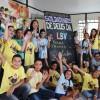 """Belo Horizonte, MG — Neste 17° Fórum Internacional do Soldadinhos de Deus, da LBV, as crianças participaram de oficinas onde aprenderam a importância da reciclagem.""""Vamos reciclar e o Mundo Melhorar"""" foi o tema de uma das atividades."""