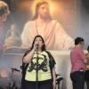 RIO DE JANEIRO, RJ — A Legionária da Boa Vontade Sarita Barrocas também canta no Festival Internacional de Música, da LBV.