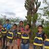 Buíque, PE - Esses sorrisos lindos dos meninos e meninas da Escola Municipal Júlio Monteiro demonstra como o presente da LBV os incentivará à permanência na sala de aula. O pequeno Rithel, 7 anos, comentou: