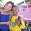 """Belo Horizonte, MG -""""É um dos primeiros eventos que eu participo com um número grande de criança, onde há uma organização impecável, um cumprimento do tempo, uma apresentação singela, as pessoas cumprindo um protocolo de maneira afetiva, carinhosa com as crianças e isso é o mais importante: a criança estar no centro da ação. Eu me senti privilegiada, agradeço. Todas estas ações que contemplam a educação das crianças são muito bem-vindas e a gente só tem agradecer! As crianças merecem este esforço! Algumas pessoas confundem carência econômica ou pouca vivência social com falta de inteligência, e não é isso. Muitas vezes estas crianças carecem de oportunidades. E oportunidades como estas são fundamentais para mostrar que todos são capazes, indiscriminadamente. É preciso oferecer possibilidades como estas que a LBV oferece para as crianças"""", destacou adiretora regional de educação, Valéria Inácio Chagas."""