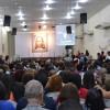 Rio de Janeiro, RJ — Família Legionária atenta às palavras do Irmão Paiva Netto.