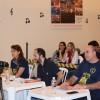 Ribeirão Preto, SP —Os jurados observam cada detalhe das apresentações no Festival Internacional de Música, da LBV. Cada um é responsável por um quesito: interpretação, música eletra.