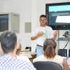 Salvador, BA — Atividades muito legais e importantes foram desenvolvidas na Oficina de Multimídia, ensinando os jovens a levarem os valores espirituais que aprendem com a Religião Divina para suas redes na internet.