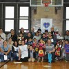 All the families from the Hawkins St School that received new backpacks and supplies from the LGW's Backpacks for a Bright Future Campaign this year!