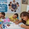 Recife, PE — Crianças participam de atividades do 17º Fórum Internacional dos Soldadinhos de Deus, da LBV.