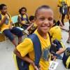 Nova Friburgo/RJ:A LBV apoia a educação de crianças e adolescentes com os kits pedagógicos.