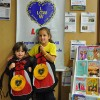 Brother João and Sister Bianca after receiving their brand new backpacks from the LGW.