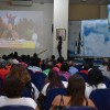 Salvador/BA - Na capital baiana, Cristãos acompanham atentamente às palavras confortadoras do Líder da Boa Vontade, José de Paiva Netto.