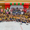 Nova Friburgo/RJ:Por intermédio dessa iniciativa, a LBV beneficia com Kits de materiais pedagógicos e conjuntos completos de uniformes crianças e adolescentes de famílias de baixa renda em todo o Brasil.