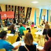 SEXTA-FEIRA, 1º —Um dos principais pontos de encontro do público com os autoresé o Café Literário.É uma sala de estar onde é possível entender o passado, discutir o presente e pensar em caminhos para o futuro.