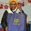 Parent of South St. School grateful for receiving a food basket from the LGW for her holiday meal