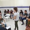 Recife, PE —Entre as atividades do dia, os jovens legionários também participaram da oficina