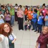 Recife, PE - Nesta animada oficina, o tema trabalhado foi