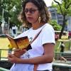 Salvador, BA— Jovens estudam as obras do líder da Juventude Ecumênica da Boa Vontade de Deus, Irmão Paiva, nestamanhã deste sábado, dentro da 42ª edição do Fórum.