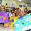Maceió, AL — As crianças prepararam mensagens de carinho ao diretor-presidente da Legião da Boa Vontade, José de Paiva Netto.