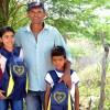 Buique, PE - As crianças da Escola Municipal Júlio Monteiro, do Povoado Tanque, foram beneficiadas com a entrega dos kits de materiais pedagógicos da LBV.