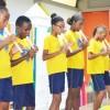 Lauro de Freitas, BA - A entrega dos kits pedagógicos contou com uma programação especial, incluindo musicais e teatrais das crianças.