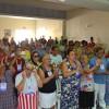 Recife, PE - Registro do público presente na Igreja Ecumênica da Religião de Deus, do Cristo e do Espírito Santo, durante o evento.