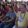 Recife, PE - Momento solene de prece, na abertura oficial das Rodas Espirituais e Culturais, da LBV, que ocorreu na Igreja Ecumênica da Religião de Deus, do Cristo e do Espírito Santo.