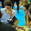 Encontro Literário #EuLeioPaivaNetto, realizado em feiras e exposições para o debate sobre os escritos do líder da Juventude Legionária, José de Paiva Netto, que trazem a abrangência da Mensagem de Jesus para além da Religião, influenciando todos os campos da vida humana.