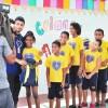 Salvador, BA - A entrega dos kits em Salvador teve o apoio da TV Educativa, que realizou cobertura da cerimônia.