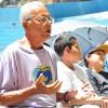 Salvador, BA — Concentração de todos os presentes durante o Momento Ecumênico de Oração.