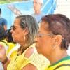 Salvador, BA — Integração com a Humanidade Superior durante o Momento Ecumênico de Oração.