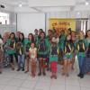 São José/SC: Os adolescentes e jovens atendidos no programa Jovem: Futuro no Presente também foram beneficiados com os kits pedagógicos da LBV.
