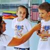AMERICANA, SP — As crianças são as protagonistas desseevento e expressam toda a sua alegria em participar de mais uma edição do Fórum Internacional dos Soldadinhos de Deus, da LBV.