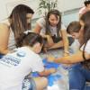 AMERICANA, SP — Junto com as crianças, os pais também participaram e se divertiram com as atividades do 16º Fórum Internacional dos Soldadinhos de Deus, da LBV.