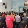 Americana/SP — Público lota Igreja Ecumênica da Religião de Deus, do Cristo e do Espírito Santo, durante Sessão Solene do 43º Fórum Internacional do Jovem Ecumênico da Boa Vontade de Deus.