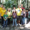 RIO DE JANEIRO, RJ — Jovens de todas as idades participam do Encontro Jovem de Boa Vontade, que teve como tema