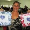 Registro, SP — O largo sorriso de satisfação das famílias atendidas é a maior alegria da LBV. A campanha