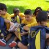 Goiânia, GO — O presente da LBV é composto por itens de acordo com a faixa etária dos estudantes como: estojo, lápis preto e de cor, canetas, borrachas, tesoura, tubos de cola, cadernos, mochila, dicionários de Português e de Inglês entre outros.