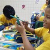 Goiânia, GO — Por intermédio dessa iniciativa, a LBV beneficia com kits de material pedagógico e conjuntos completos de uniformes crianças, adolescentes e jovens de famílias de baixa renda em todo o Brasil.