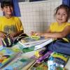 Inhumas, GO — O presente da LBV é composto por itens de acordo com a faixa etária dos estudantes, como: estojo, lápis preto e de cor, canetas, borrachas, tesoura, tubos de cola, cadernos, mochila, dicionários de Português e de Inglês, entre outros.