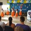 Inhumas, GO — Com apresentações culturais, atendidos abrilhantaram a cerimônia de entrega dos kits pedagógicos da LBV.