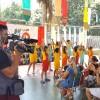Goiânia, GO — A festividade de entrega dos kits arrecadados por meio da campanha Criança Nota 10!, na capital goiana, foi transmitida ao vivo pela TV Anhanguera, Globo, para todo o estado de Goiás.