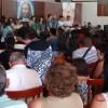 ARCEBURGO, MG — Vista parcial dos Cristãos do Novo Mandamento de Jesus, presentes no Encontro Ecumênico — Família Um Presente de Deus.