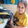 Anápolis, GO — O presente da LBV é composto por itens de acordo com a faixa etária dos estudantes, como: estojo, lápis preto e de cor, canetas, borrachas, tesoura, tubos de cola, cadernos, mochila, dicionários de Português e de Inglês,entre outros.