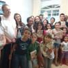 BELO HORIZONTE, MG — Estudo ecumênico uniu a família do casalDalva Helena e Mauro Reis,que realizou a Cruzada do Novo Mandamento de Jesus no Lar.