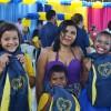 Teresina/PI - A alegria está estampada no sorriso das crianças que receberam o kit de material pedagógicos!