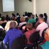 Bauru, SP— Vista parcial do público que acompanha as palavras do Irmão Paiva Netto durante a sessão solene do Fórum na Igreja Ecumênica da Religião do Amor Fraterno.