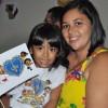 SALVADOR, BA — Felizes, Mãe e filha participam do 16º Fórum Internacional dos Soldadinhos de Deus, da LBV.