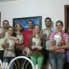 SAPIRANGA, RS — União! Integrados nos Ideais de Boa Vontade, o casalElaine e Tiago Araujo Borges realiza a Cruzada do Novo Madamento de Jesus no Lar.