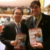 NOVJORKO, USONO — Ankaŭ ricevis la rekomendojn de LBV la vicprezidanto de la nuna sesio de la Komisiono pri la Situacio de Virinoj, Jun Saito (maldekstre), de Japanio.